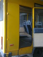 Переоборудование городских автобусов для перевозки лиц с ограниченными